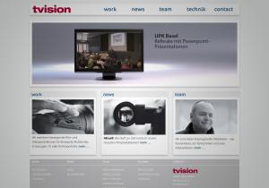 webseite tvision filmproduktion videoproduktion basel